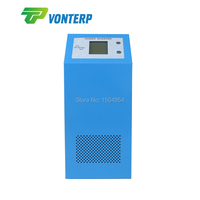 Dc 12v to ac 220v 50hz 500W Multifunctional Low Frequency LCD Pure Sine Wave Inverter with charger and UPS function