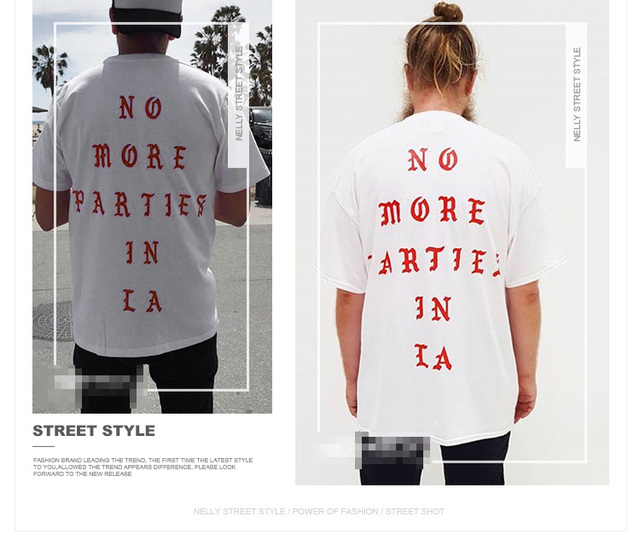 Los Angeles LA Life Of Pablo Tee