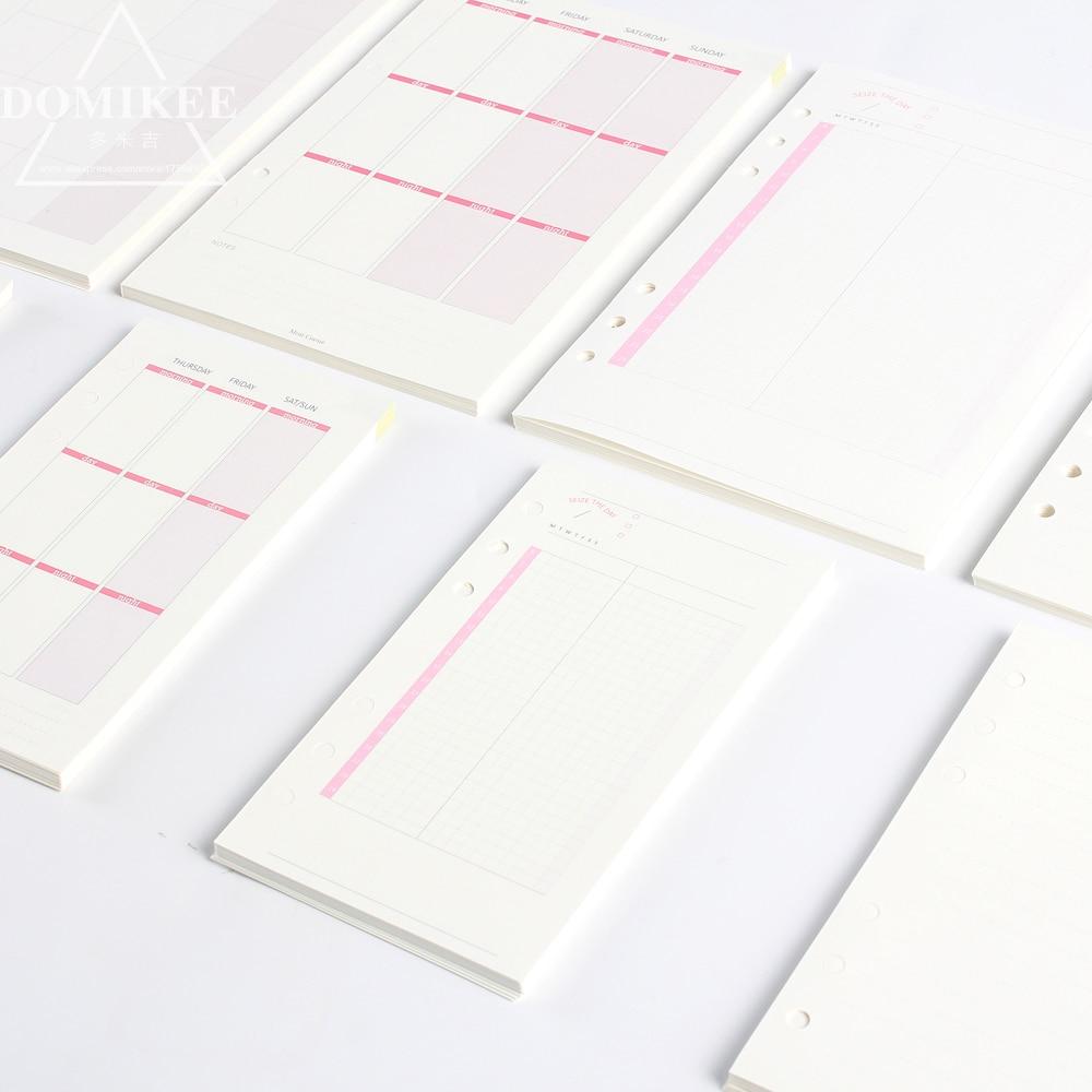 2018 Dokibook Can tear Memo Pad Notepad Weekly plan Schedule note ...