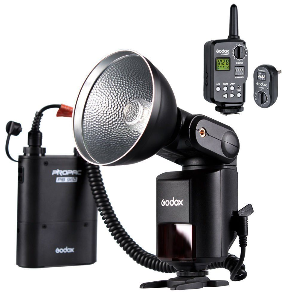Godox WITSTRO Powerful Portable Flash Light AD360 +PB960 Battery + FT-16 Trigger free tax to russia new 42cm godox ad s3 beauty dish with grid for witstro speedlite flash ad180 ad360