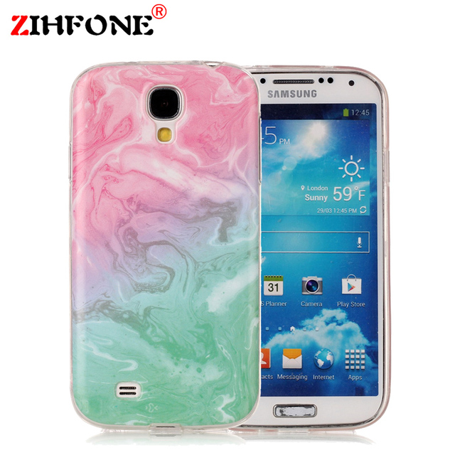 3d print cover case for samsung galaxy s4 marble silicon phone cases
