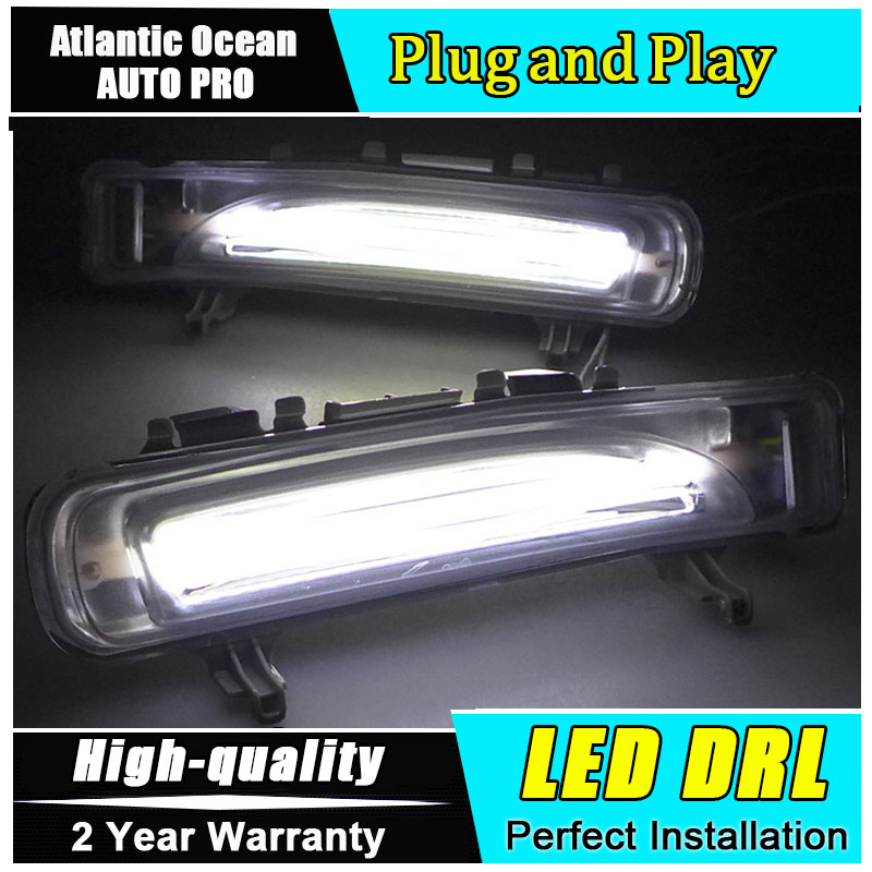 JGRT car styling LED Guiding Daytime Running Light For Ford Edge 2011 2012 2013 2014 DRL New Car Styling Modify Fog Lights C free shipping 304 stainless steel car window chrome trim decoration car styling for ford edge 2011 2012 2013 2014 page 6