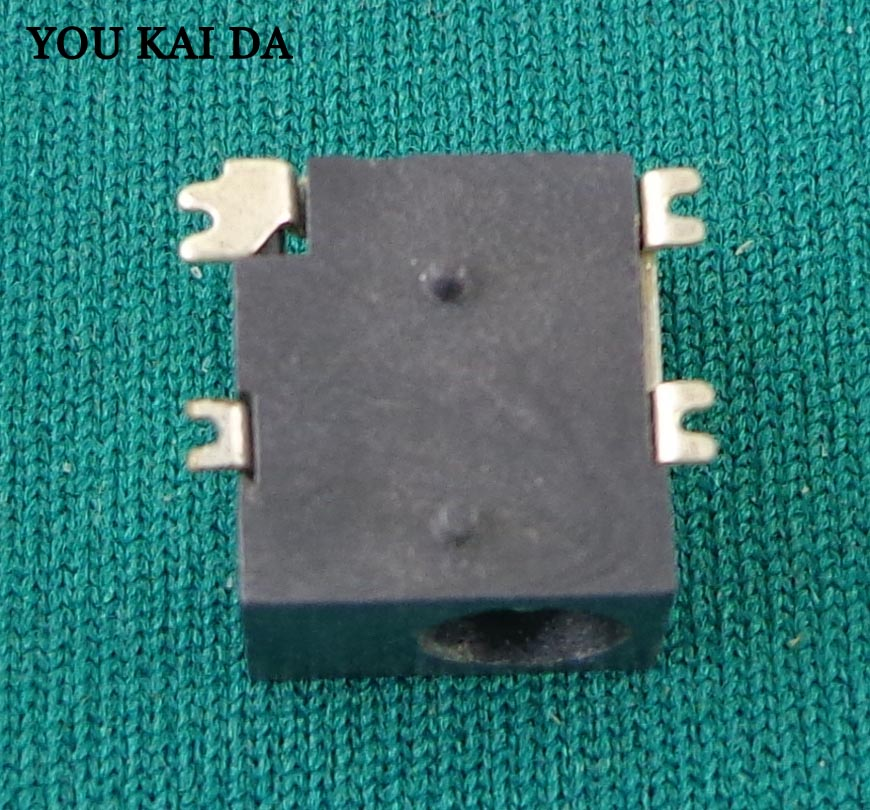 1.3mm Tablet PC 4 SMD foot Charging Power Connector DC Power Jack for Gemei X690HD <font><b>HD660</b></font>*50 image