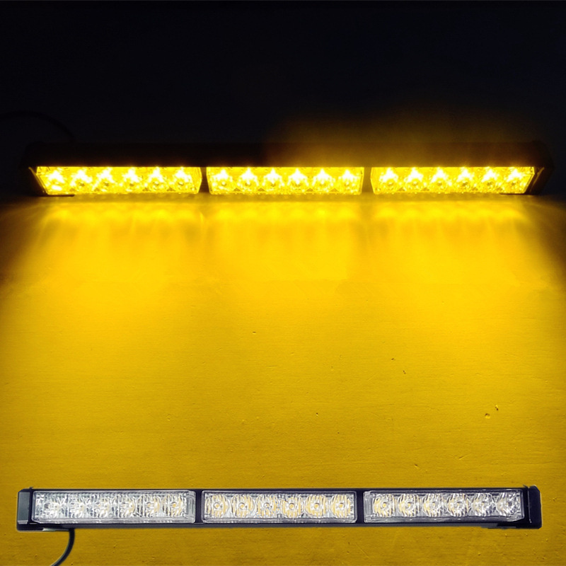 Автомобиль-стайлинг 18ВТ 6led*3 высокой мощности светодиодный свет бар Автомобильные светодиодные лампы сигнальные лампы дневного света DRL для автомобилей