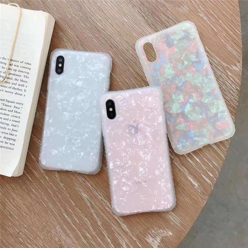 Fashion flower lines phone case for the iPhone X XS XR XsMax 8 7Plus 6Plus Back Cover For iphone 7 6s