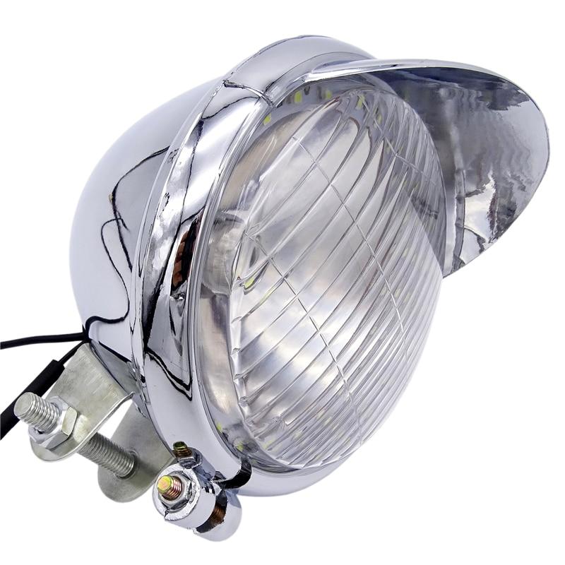 Motorcycle Fog Passing Light Bulb LED Angel Eye For Honda Yamaha Suzuki Kawasaki