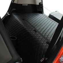 Smart Fortwo 453 Anti Sporco Pad Bagagliaio di Un'auto Anti Calcio Zerbino Sedile Posteriore Cuscino Protector Mantenere Pulito Accessori Per Interni Auto styling