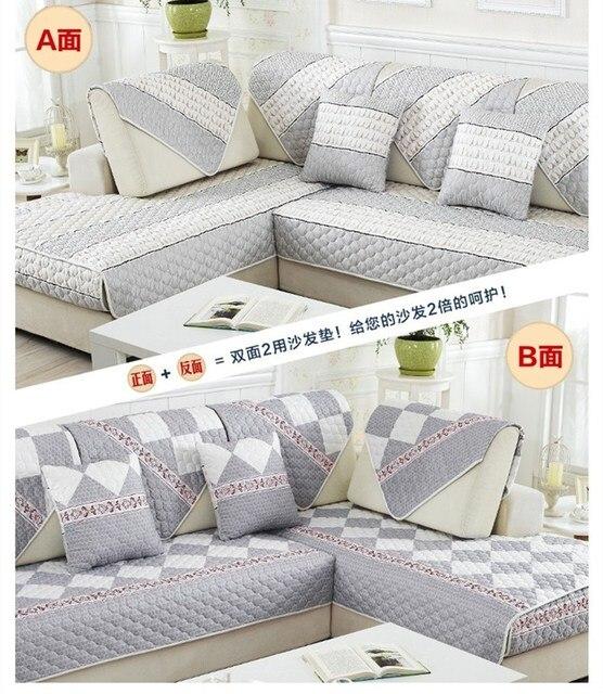 Charmant Double Surface Sofa Cover Four Seasons Sofa Towel Non Slip Comfortable  Europe Style Sofa Cover