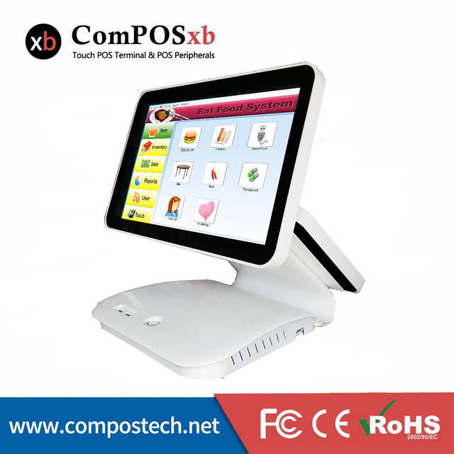 POS Terminal 15.6 Pos All In One Capacitive Truth Flat Touch Screen Point Of Sale Pos System