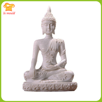 LX MOULD New Sakyamuni Buddha Image Silicone Mould DIY Handmade Crystal Epoxy 11cm silicone mold