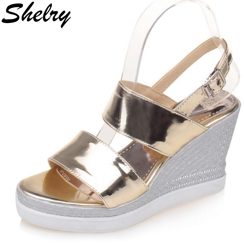 Buy Silver Wedge Shoes