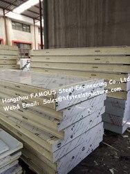Chinesische Fabrik Versorgung Isolationsmaterial Polyurethan Isoliert Panel, PU Sandwichplatte Für Kühlraum Und begehbarer Gefrierschrank