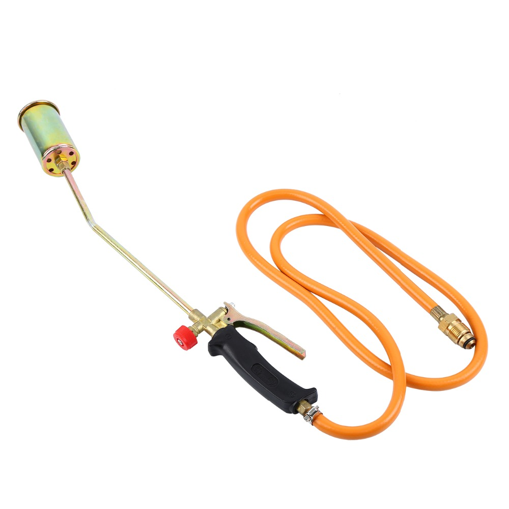 Propane Torch with 3 Nozzles Lawn Landscape Weed Burner Ice Snow Melter