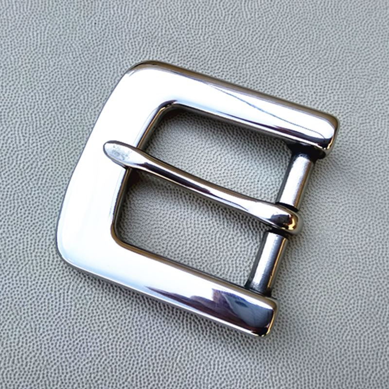 New  Men's Stainless Steel Pin Metial Matel Buckle Belt Inner Width 33mm Women's Buckle W038
