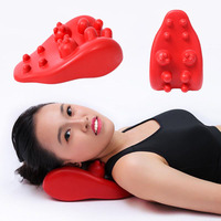 Neck Massager Pillow pain relief Back Health Care head Neck Shoulder Massage Relieve Dual Trigger Point spa Self Massage Tool