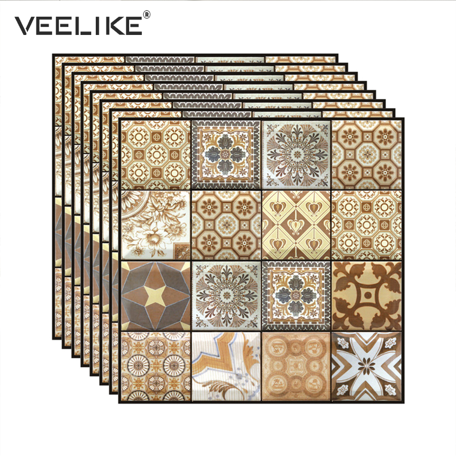 Brick 3D Stone Self Adhesive Wallpaper For Living Room Wallcoverings Bathroom Kitchen Backsplash Tiles Wall Papers Home Decor