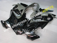 Лидер продаж, мотоцикл 98 07 GSXF750 GSXF600 мотоцикл обтекатель для Suzuki Катана GSX750f GSX600f 1998 2007 Черный, серый цвет обтекатель