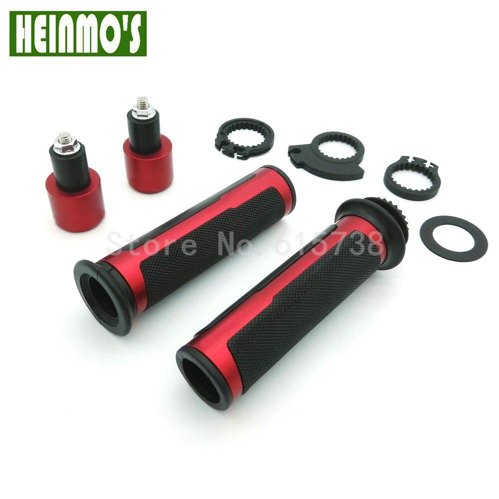 1 Pair Bike <font><b>Handlebar</b></font> End Plugs High Quality Handle Bar Cap Stoppers Road Bicycle Cycling Aluminum <font><b>Handlebar</b></font> Grips 5 Colors