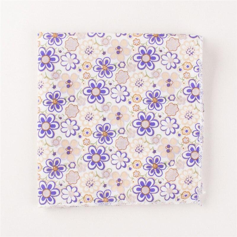 Mantieqingway Men's Business Suits Handkerchiefs Pocket Towel Cotton Handkerchief Solid Color Hanky For Wedding Pocket Square