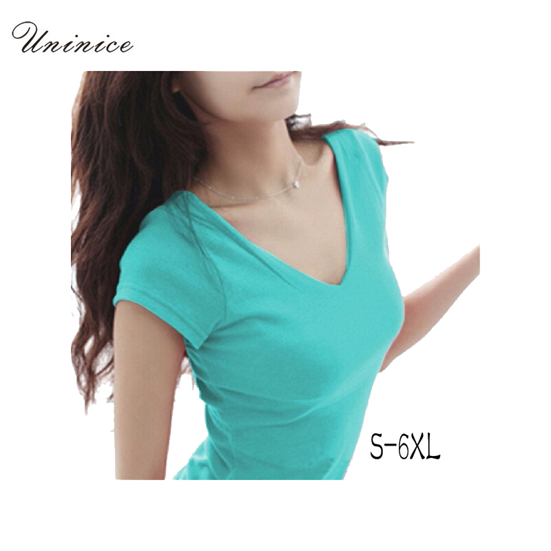 women Tops Tees 5XL 6XL 2017 spring/summer women casual womens t-shirt roupas femininas short sleeve tshirt t shirts for women