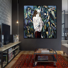 World famous painting Picasso impressionist wall art canvas painting poster and print home decoration for Bar livingroom Framed