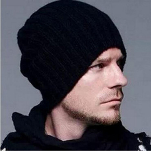 Selling Beckham knitted hat fashion men and women autumn and winter wool hat warm hedge hat