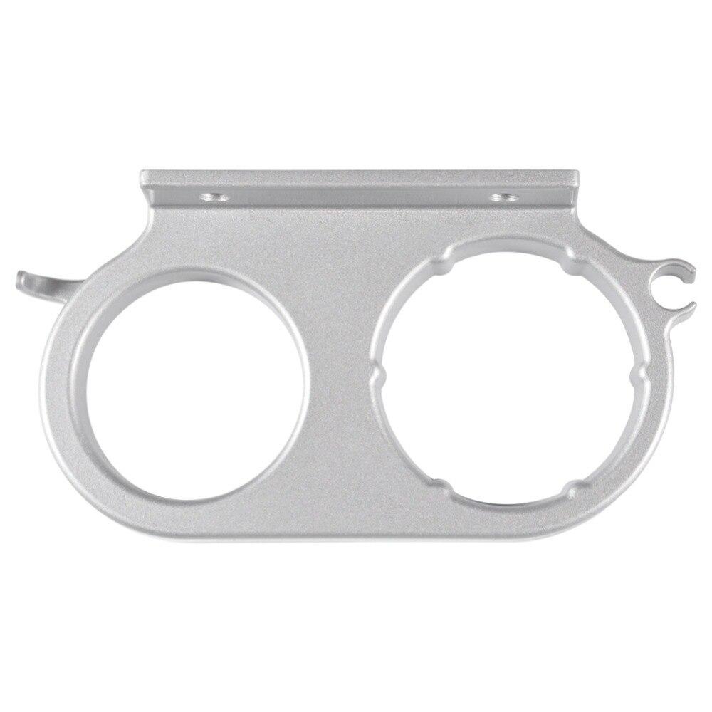 Fdit Aluminium wandmontage Badezimmer Waschraum Fönhalter Gebläse Speicherorganisator mit Eine Tasse Badezimmer Commodity Shelf