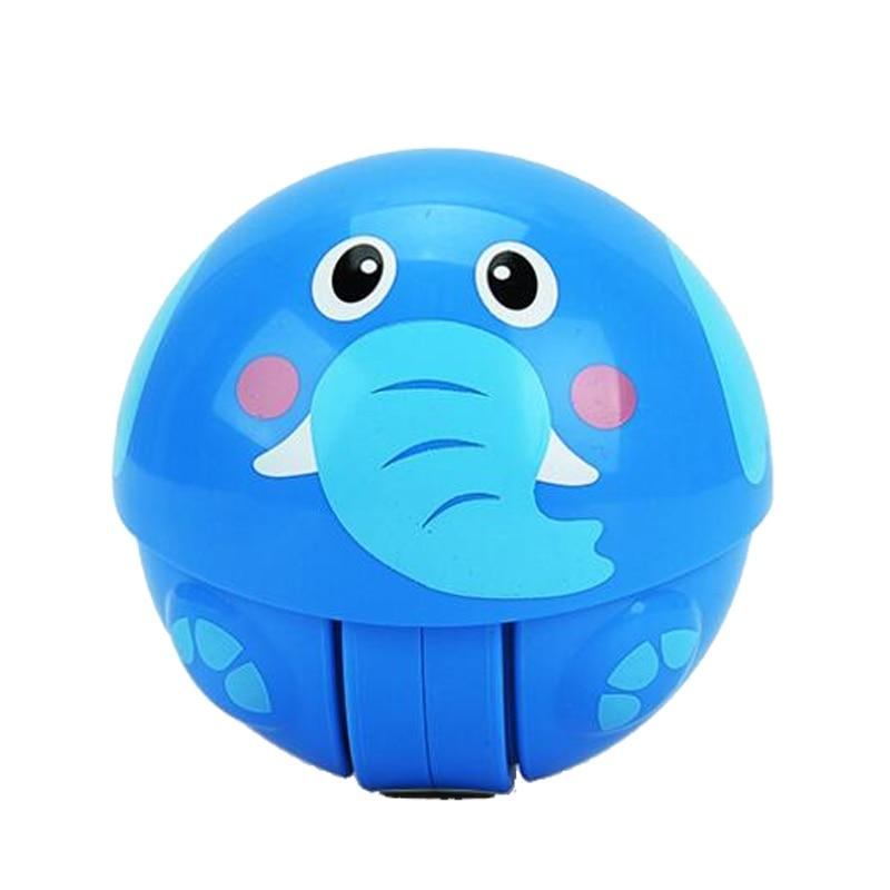 HUAILE Animal Roly Poly Tumbler Toy Inercia Climbing Toy Ring Ring - Խաղալիքներ նորածինների համար - Լուսանկար 4