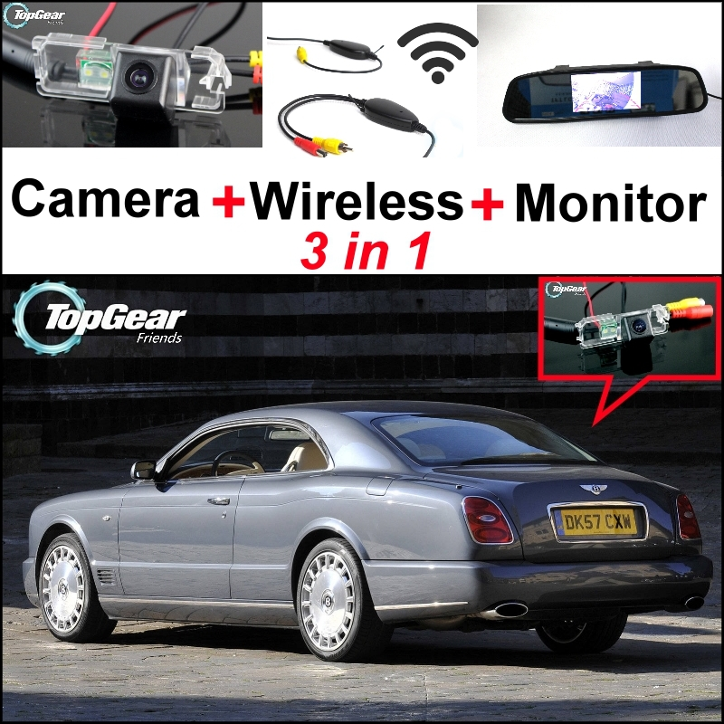 3 In1 Special Rear View Camera + Wireless Receiver