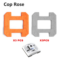 COP ROSE X6 Window Cleaning Robot Fiber Mopping Cloths 4pcs For Window Cleaning Vacuum Robot X6