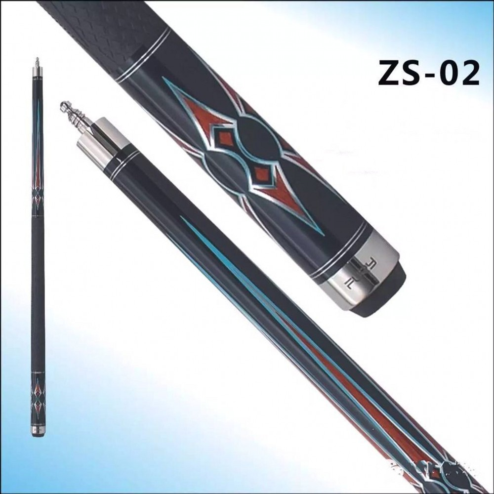 Fury billiard pool cue ZS Series  ZS-02/ Maple wood American Billiard stick billiards  wholesalers pool billiard cue cherry brown wood 11 75mm