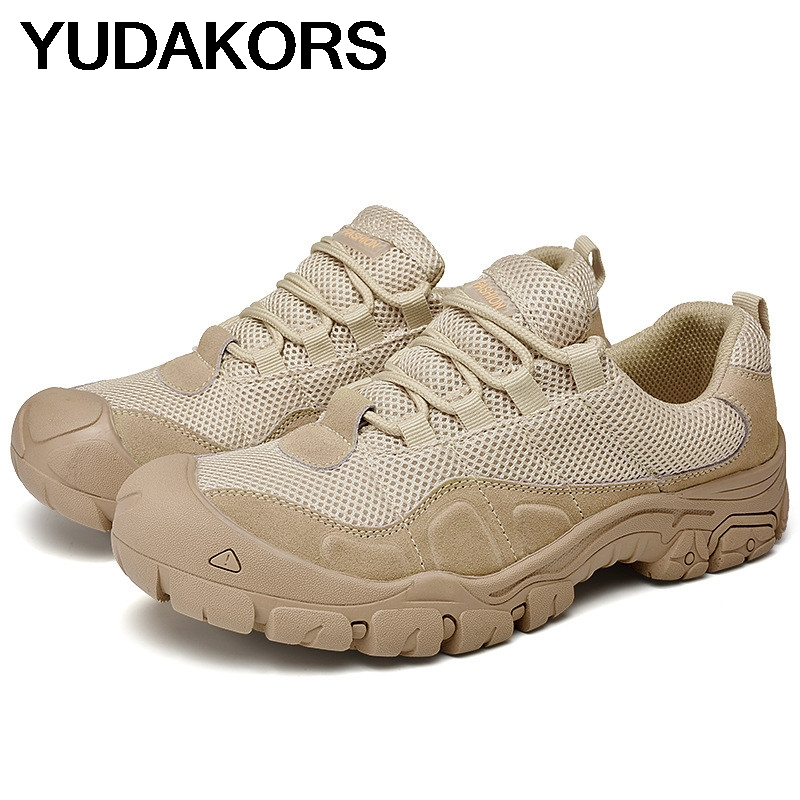 Hommes Camping formation en plein air Sport Trail randonnée chaussures imperméable alpiniste cross-country Ultra escalade voyage Sneaker YD194