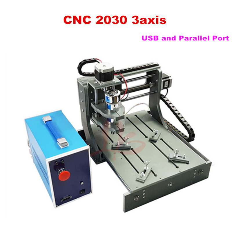 2019 DIY 2030 2 in 1 3axis mini CNC Router engraving machine machine for wood metal stone carving