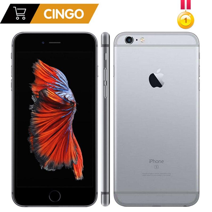 Открыл Apple iphone 6s 2 GB Оперативная память 16/64/128 ГБ Встроенная память сотовый телефон IOS A9 двухъядерный 12MP Камера ips LTE смартфон iphone 6s
