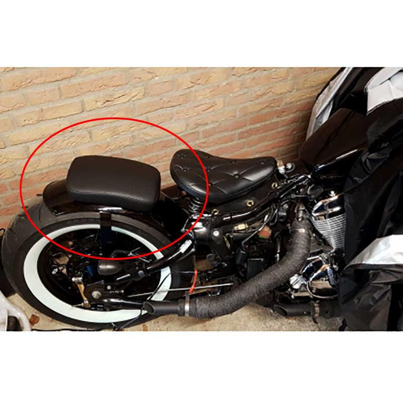 אופנוע אחורי כרית נוסע 6 יניקה כוסות למושב אחורי כרית יניקה מושב להארלי Dyna Sportster Softail סיור XL 883 1200