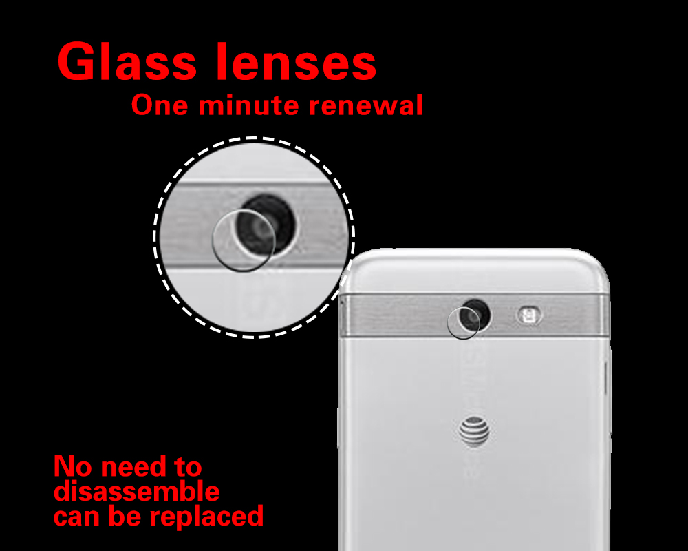 Anti-Shatter& Explosion Lens Glass Film For <font><b>Samsung</b></font> Galaxy J3 2017 J3300 Emerge J3308 <font><b>J330FN</b></font> Camera Protector Guard Film image