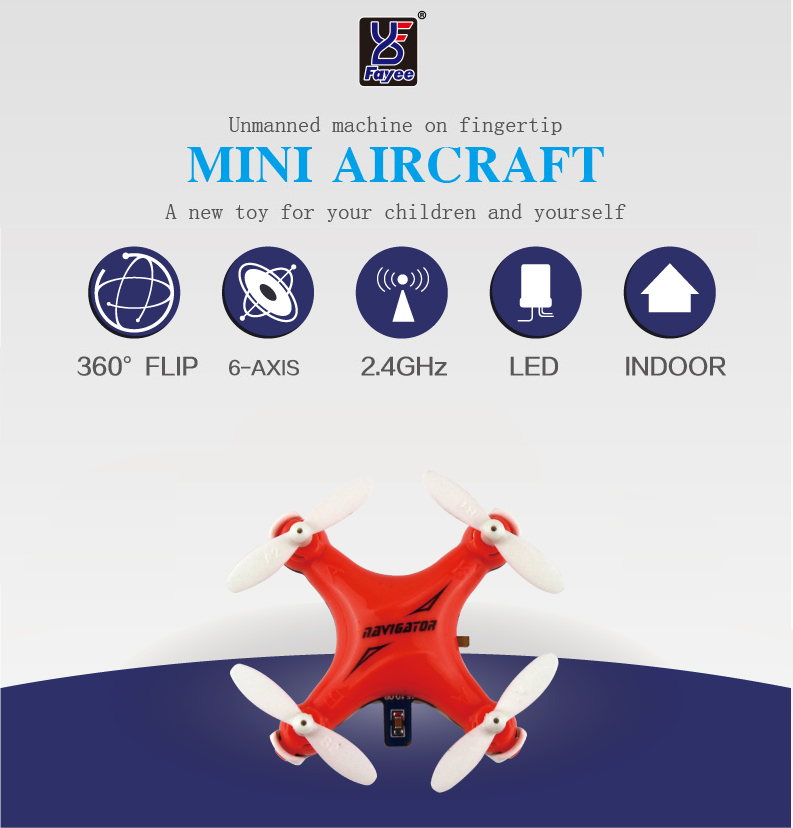 New Smallest Mini Parrot Drone Helicopter FY804 4CH 2.4G 6Axis 360 Degree Roll Drone LED Plane Model Toys RC Quadcopter