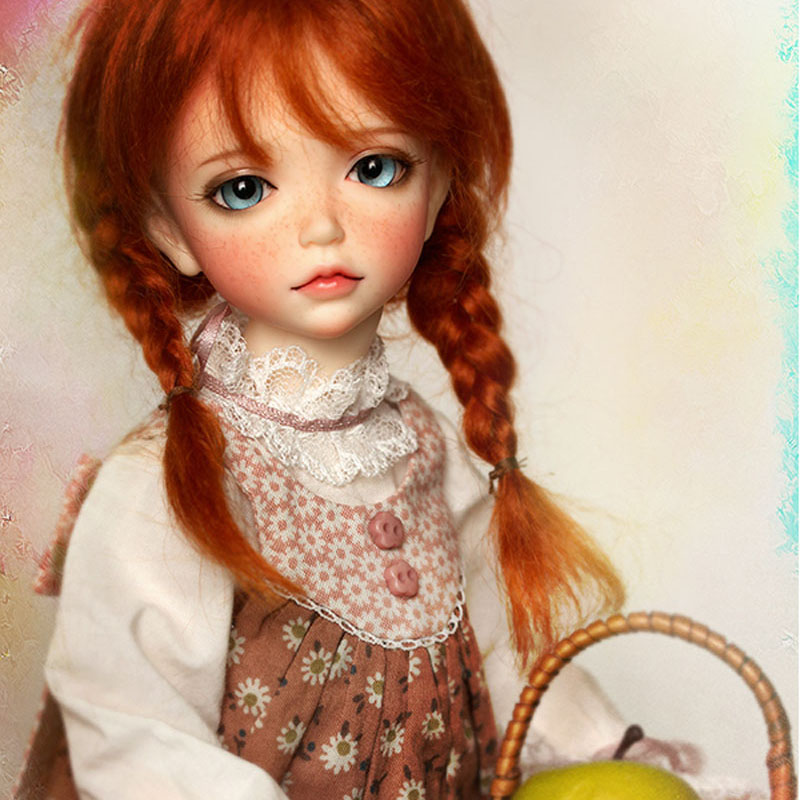 New Arrival 1/6 BJD Doll BJD/SD Cute Lonnie Doll With Freckles For Baby Girl Birthday Gift кукла bjd dc doll chateau 6 bjd sd doll zora soom volks