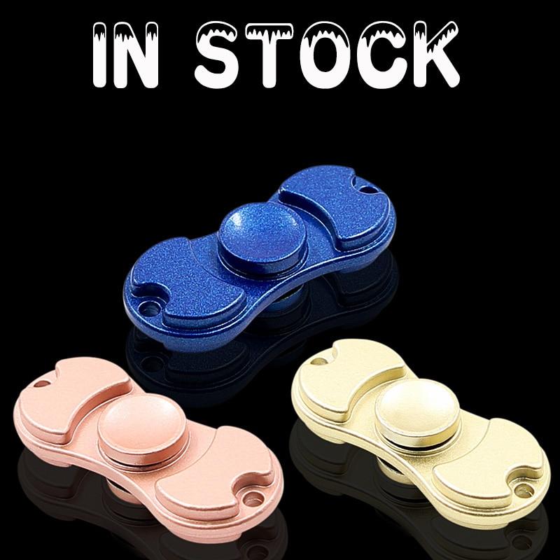 In Stock New Arrival Finger font b Spinner b font Fidget Aluminium Alloy EDC Hand font