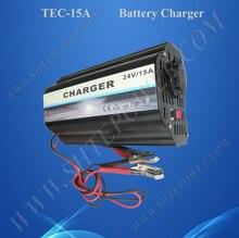 Большие продажи автомобиля 24 В зарядное устройство 15A для 230 В страны