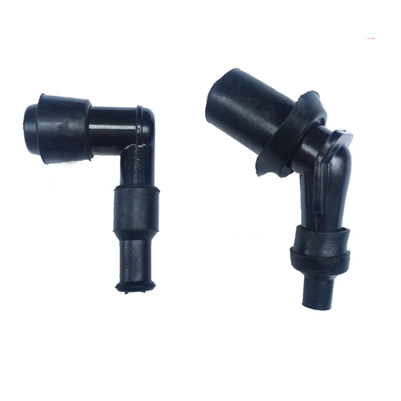 Image 3 - 2pcs Universal Motorcycle Ignition Spark Plug Cap Moped Scooter Dirt Bike Straddle Type Motorcycle Cub Underbone Spare Parts-in Motorbike Ingition from Automobiles & Motorcycles