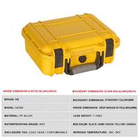 274x225x113mm PP Tool case toolbox Impact resistant sealed waterproof safety case equipment camera case with pre cut foam