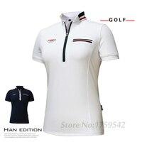 2017 New PGM Women S Golf T Shirt Golf Apparel Ladies Short Sleeve Tops Summer T