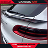 High Performance Hm Style Trunk Roof Spoiler Wing Winglets For Porsche Macan 2015 2016 Carbon Fiber