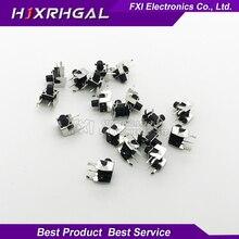 New 50PCS Tactile Momentary Tact 6x6x7mm DIP Through Hole 4pin Horizontal Wholesale font b Electronic b
