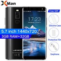 Original LEAGOO S8 4G LTE Smartphone 5 7 Inch MT6750T Octa Core 3G RAM 32G ROM