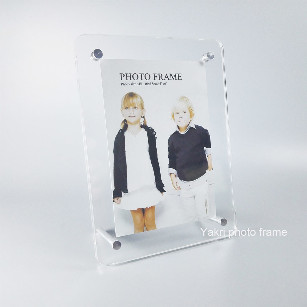 Pack10units countertop plexiglass photo frame stand screw pack10units countertop plexiglass photo frame stand screw acrylic picture holder frame pf023 2 in frame from home garden on aliexpress alibaba jeuxipadfo Image collections