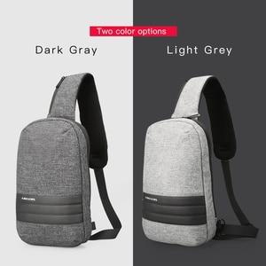 Image 5 - Kingsons 가슴 가방 단일 어깨 백 팩 크로스 바디 가방 캐주얼 메신저 짧은 여행을위한 작은 가방
