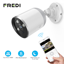 FREDI YCC365 IP Camera 1080P Waterproof Outdoor Bullet Camera Security Surveillance Camera Wireless Network WiFi  CCTV Camera