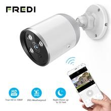 Fredi YCC365 Ip Camera 1080P Waterdichte Outdoor Bullet Camera Beveiliging Surveillance Camera Draadloze Netwerk Wifi Cctv Camera